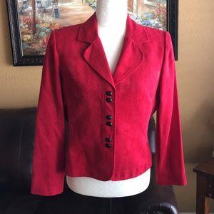 STUDIO red blazer size 10P